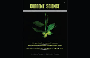 The garbage paper is online published in Current Science
